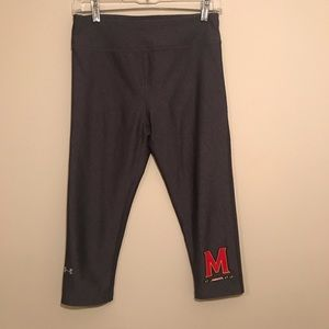 Under Armour Heat Gear - Maryland Crop Leggings